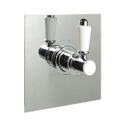 "1/2"" Sequential Valve, Square Plate & Traditional Lever Handle"