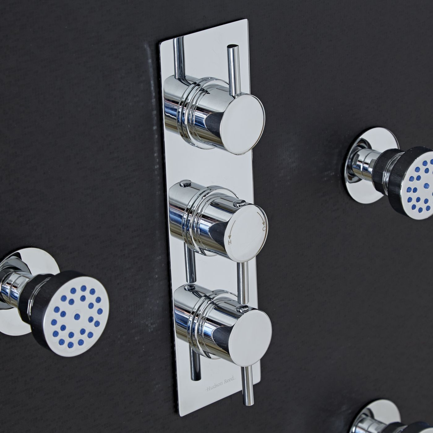 Quest Concealed 3 Outlet Triple with Diverter Thermostatic Shower ...