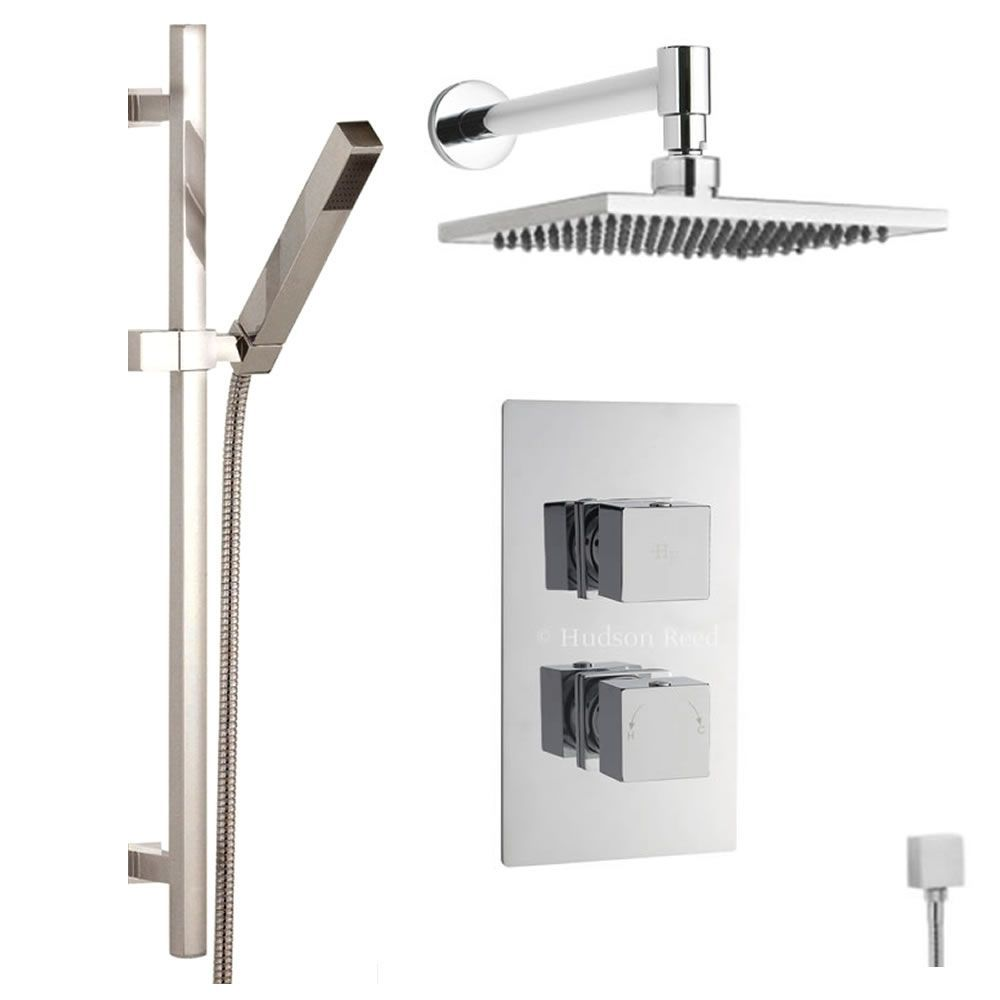 Thermostatic Shower Valve With Divertor 2 Outlets, 8\