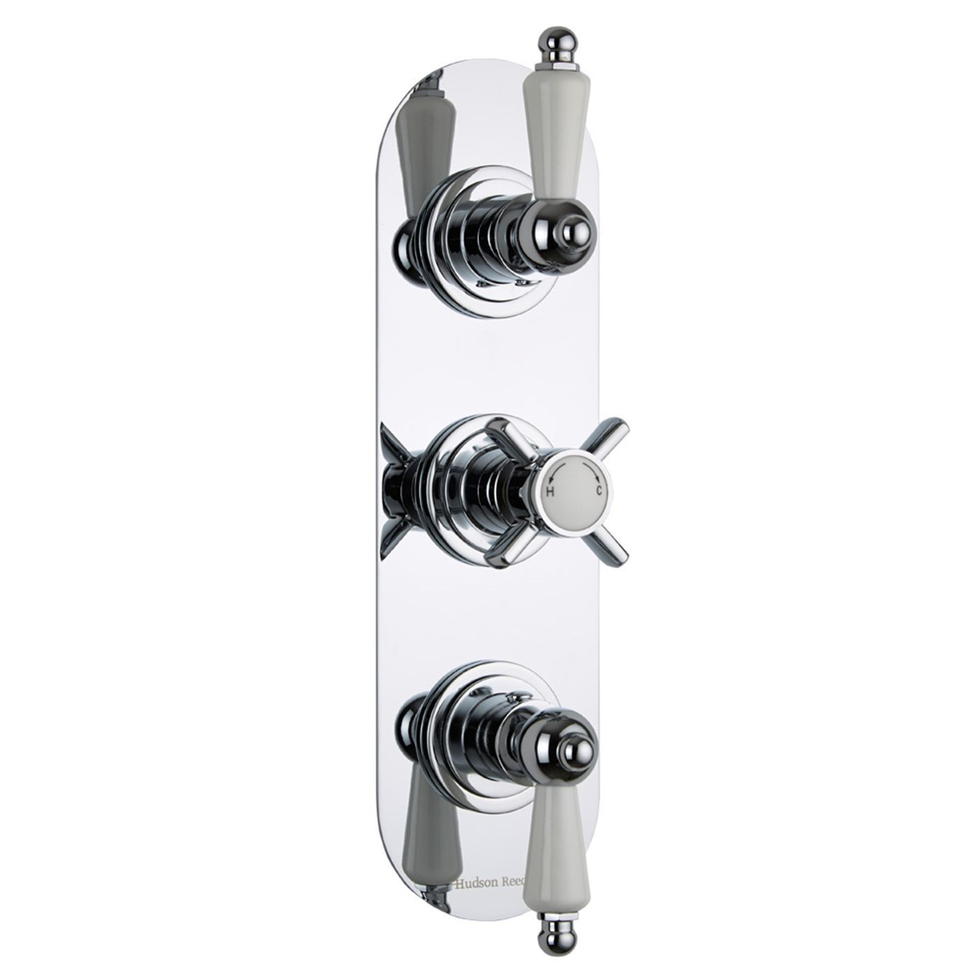 Beaumont Concealed 3 Outlet Triple with Diverter Thermostatic