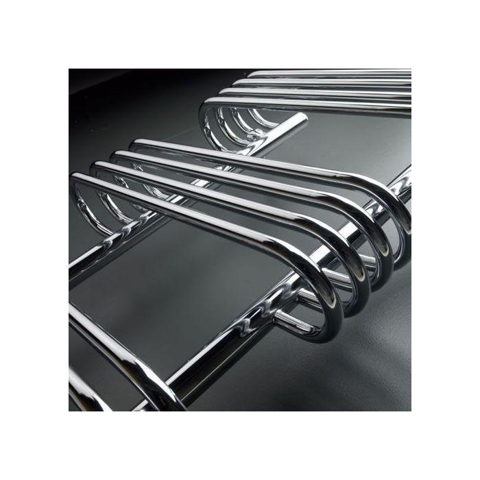 "Select - Hydronic Chrome Heated Towel Warmer - 35.5"" x 19.75"""