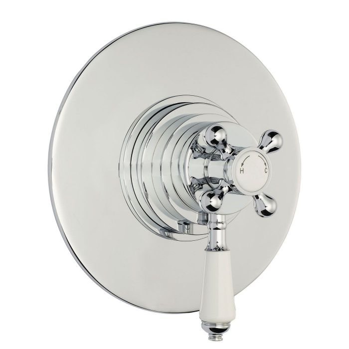 Traditional Concealed Thermostatic Shower Faucet Dual Control
