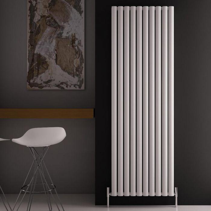 "Revive Air - White Aluminum Vertical Double-Panel Designer Radiator - 70.75"" x 23.25"""