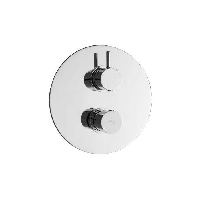 Clio Twin Concealed Thermostatic Shower 1 Outlet Option