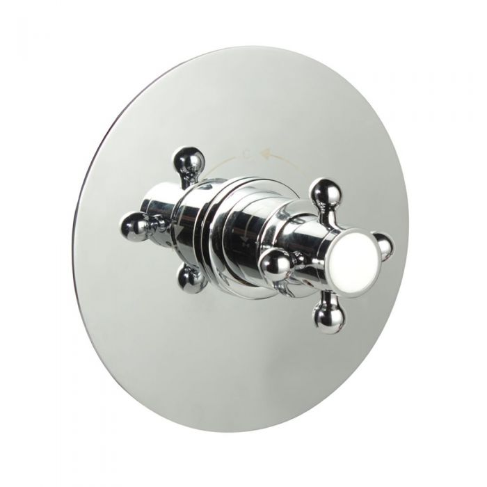 "1/2"" Sequential Valve, Round Plate & Traditional Crosshead Handle"