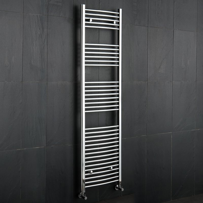 Linosa Hydronic Chrome Heated Towel Warmer 70 75 Quot X 19 75 Quot