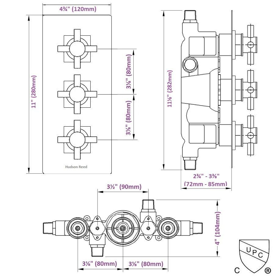 RTD 2 F3105 DINB 5PK in addition Freestanding Telephone Tub Faucet Supplies Valves And Drain By 2018 furthermore Mixet besides Moen T3124 Tub And Shower Faucet Parts C 143601 144220 144490 also Showers. on tub temperature