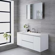 Randwick - 47'' White Wall-Mount Bathroom Vanity