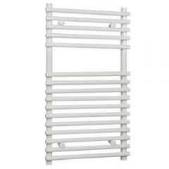 "Ischia - Hydronic White Heated Towel Warmer - 29.5"" x 17.75"""