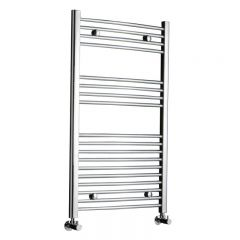 "Linosa - Hydronic Chrome Heated Towel Warmer - 39.25"" x 23.5"""