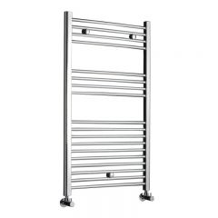"Linosa - Hydronic Chrome Heated Towel Warmer - 39.25"" x 19.75"""