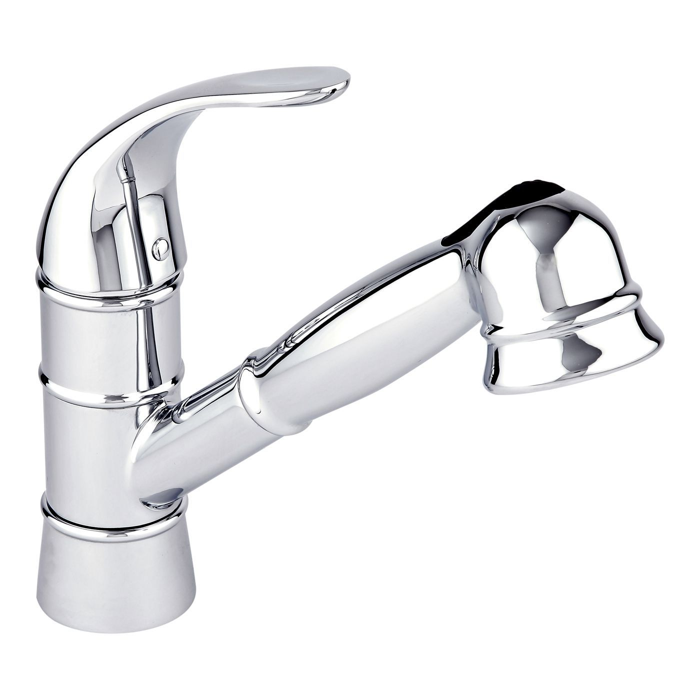 Single Hole Pull Out Kitchen Faucet