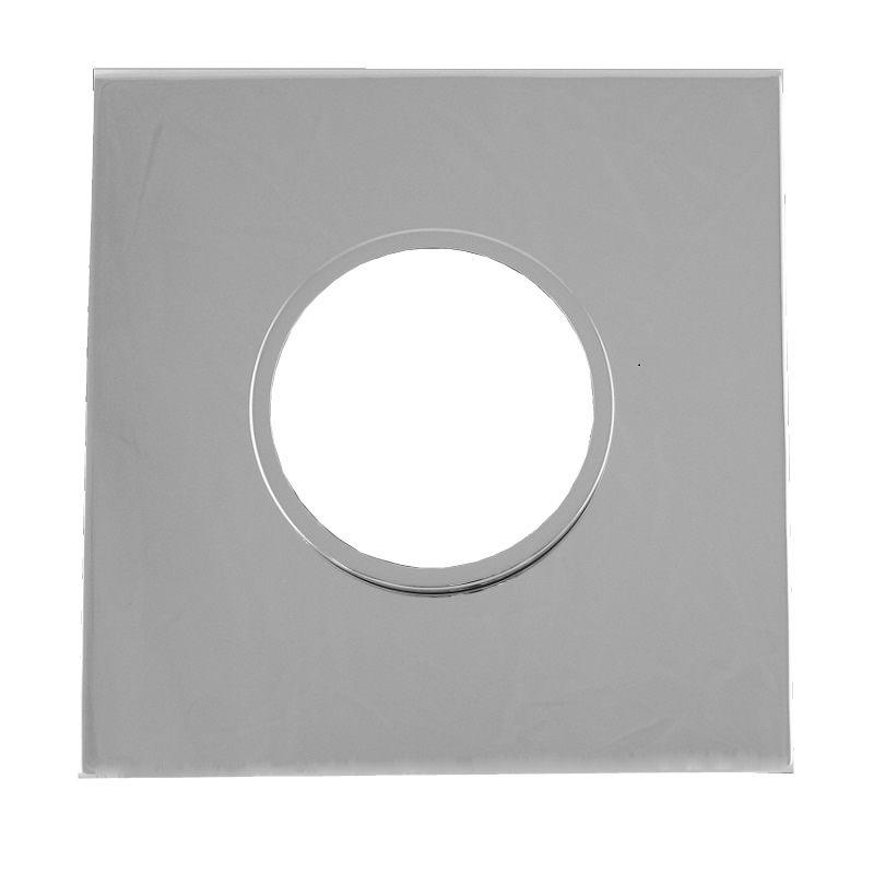 Square Dual Trim Plate