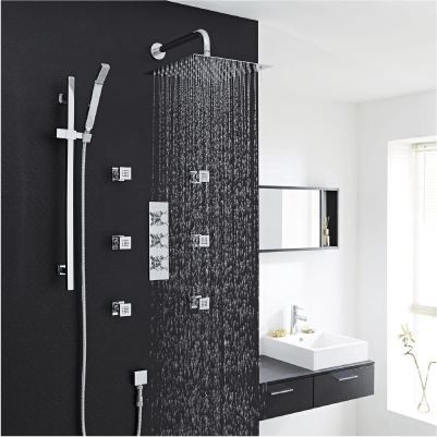 3-Outlet Shower Systems