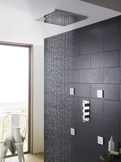 Hudson Reed Ceiling tile shower head