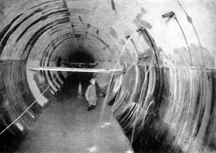 New York City Water Tunnel Map