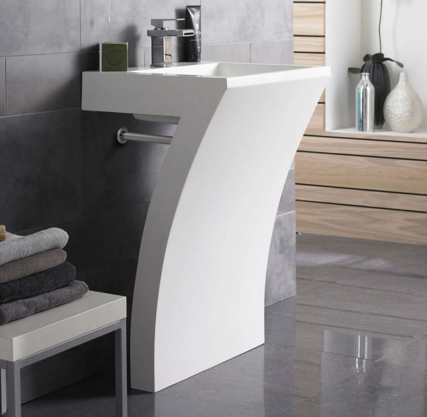 The many different styles of modern bathroom sinks for Different bathroom styles