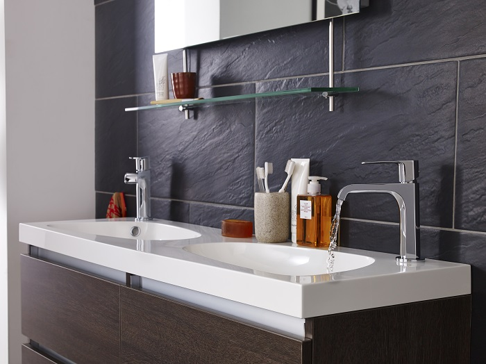 double bathroom vanity unit